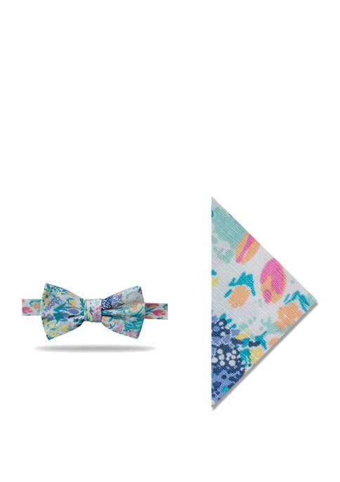 Crown & Ivy™ Susanna Printed Floral Bow Tie