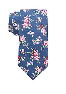 Dustin Floral Print Neck Tie
