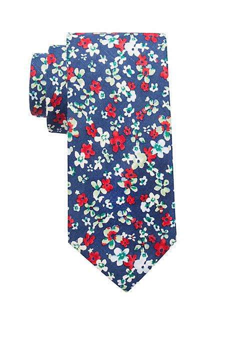 Dale Floral Print Neck Tie