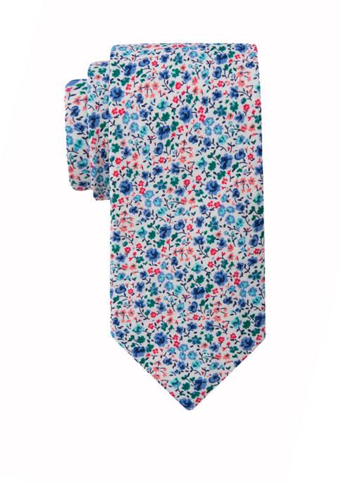 Crown & Ivy™ Elegant Floral Tie