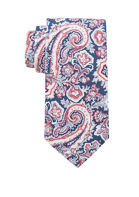 Crown & Ivy™ Clearwater Paisley Tie