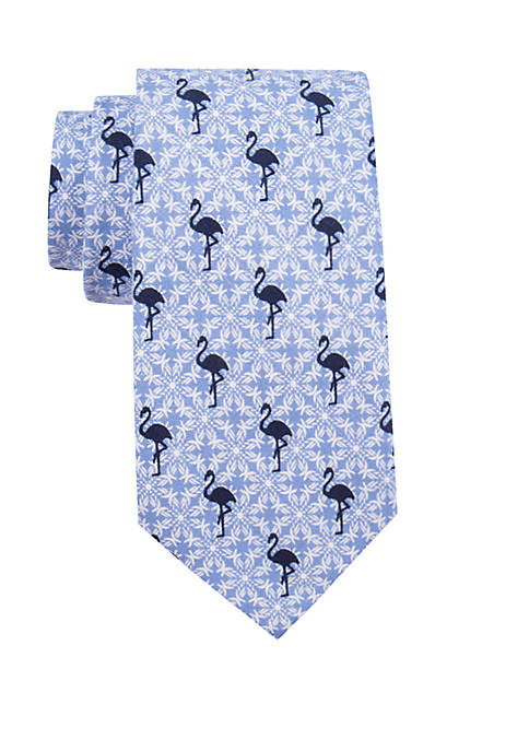 Crown & Ivy™ Culver Flamingo Necktie