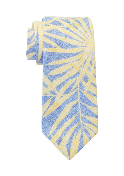 Crown & Ivy™ Cairo Leaves Tie