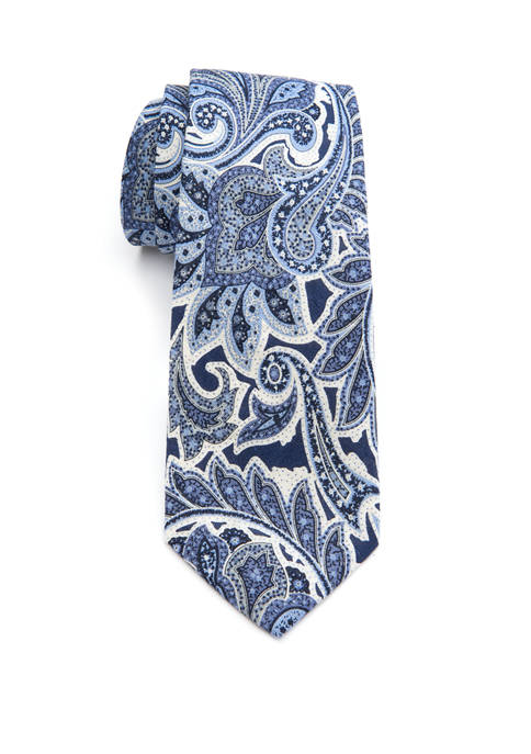 Crown & Ivy™ Matheson Paisley Tie