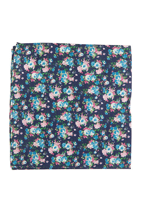 Crown & Ivy™ Hickory Floral Pocket Square