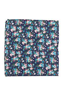 Crown & Ivy™ Hickory Floral Pocket Square