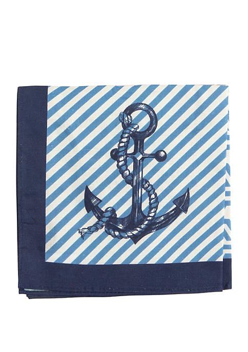 Crown & Ivy™ Nautical Quad Pocket Square