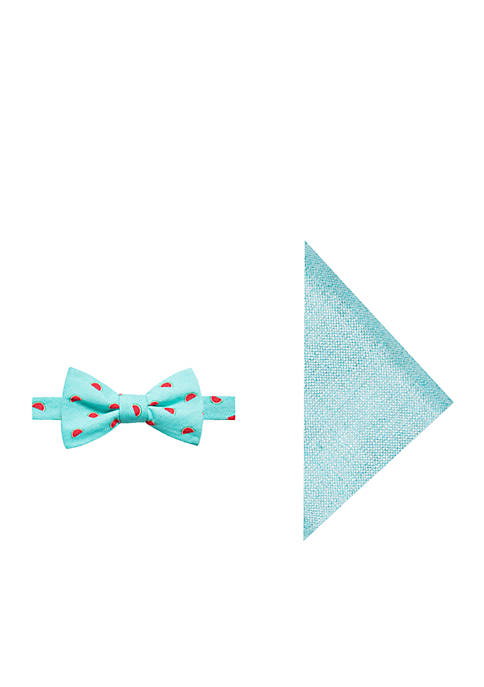 Crown & Ivy™ Nellie Watermelon Bow Tie and
