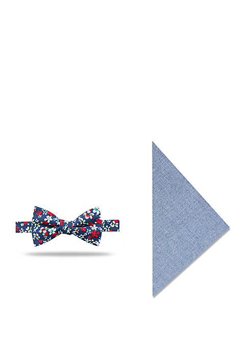 Crown & Ivy™ 2-Piece Dale Floral Print Bow