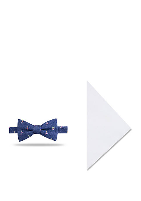 Crown & Ivy™ Roaming Flamingo Bow Tie And