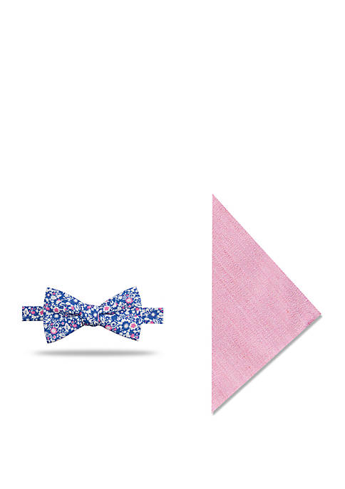 Crown & Ivy™ Birney Floral Bow Tie And