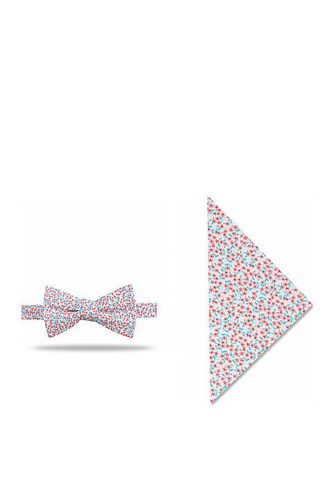 Crown & Ivy™ Cherie Floral Bow Tie And