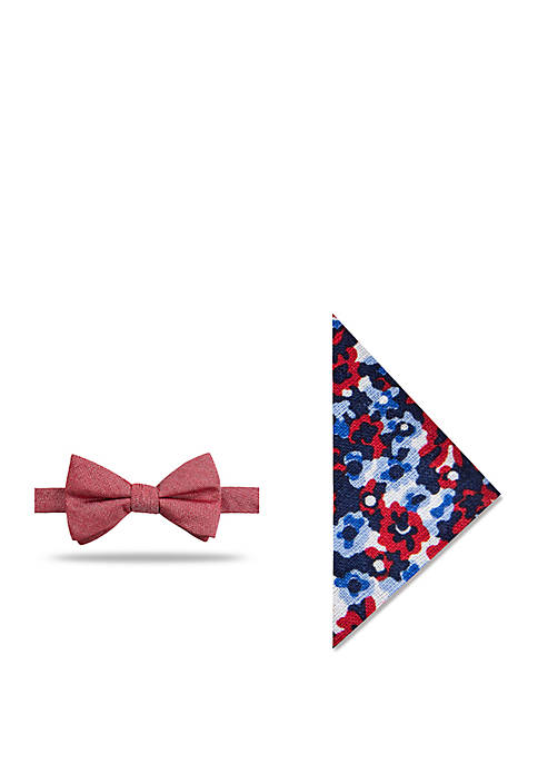 Crown & Ivy™ Keizer Solid Bow Tie and