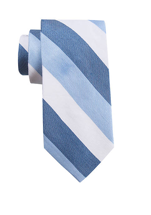 Crown & Ivy™ Canary Stripe Tie