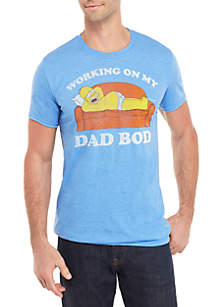 Freeze Homer Dad Bod Graphic T Shirt
