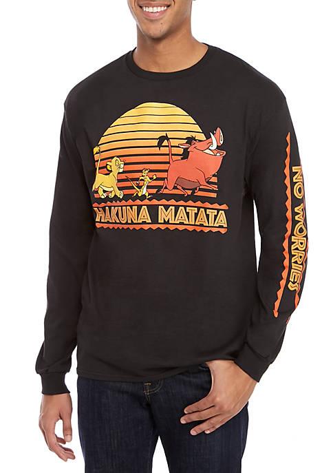 Long Sleeve Hakuna Matata Shirt