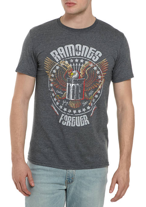 MD Short Sleeve Ramones Graphic T-Shirt