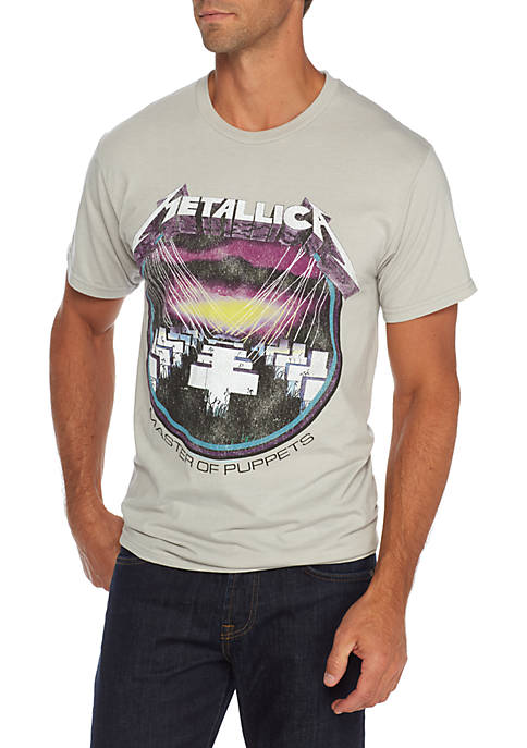 MD Short Sleeve Metallica Master T Shirt
