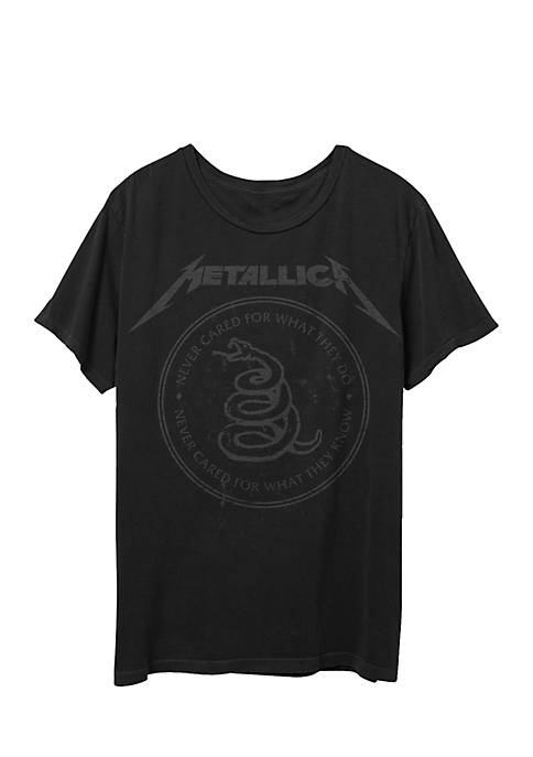 MD Metallica Snake Seal graphic T-Shirt