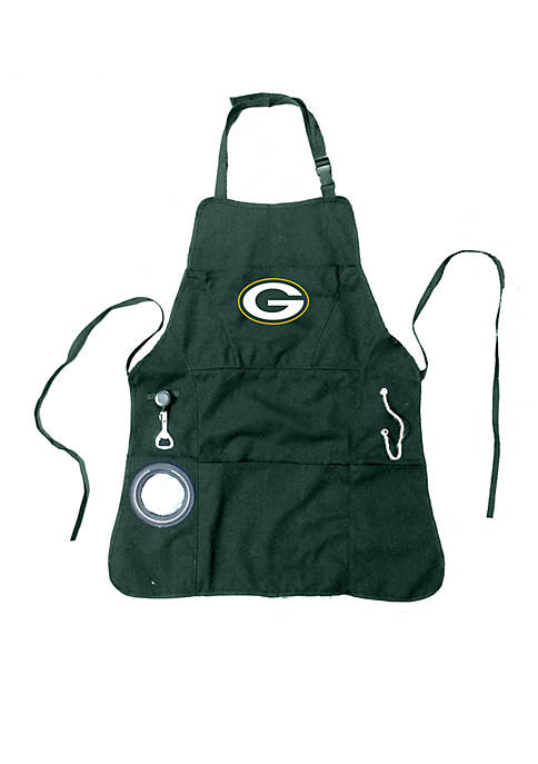 Team Sport America Apron Mens Green Bay Packers