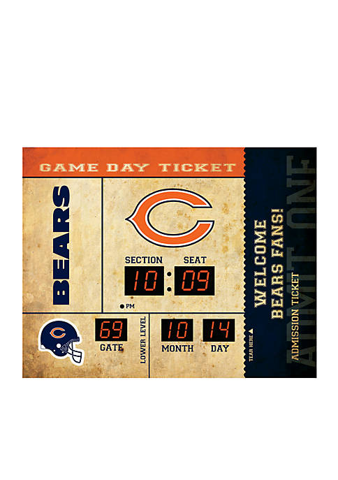 Team Sport America Bluetooth Scoreboard Wall Clock Chicago
