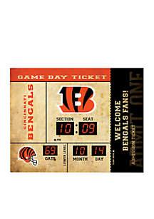 Bluetooth Scoreboard Wall Clock Cincinnati Bengals