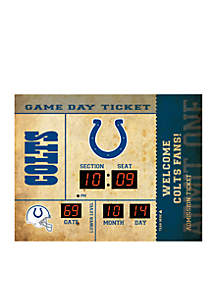 Bluetooth Scoreboard Wall Clock Indianapolis Colts