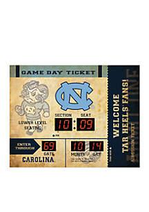 Bluetooth Scoreboard Wall Clock North Carolina