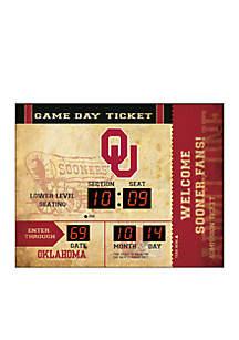 Team Sport America Bluetooth Scoreboard Wall Clock Oklahoma