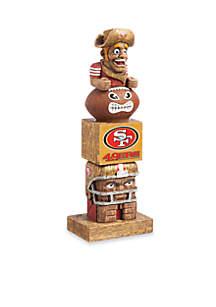 Tiki Tiki Totem San Francisco 49ers