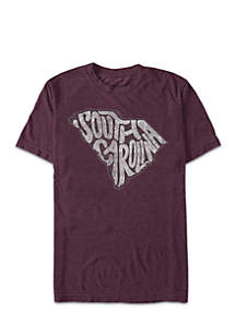 South Carolina State Lettering Tee