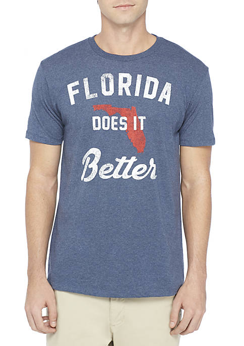 TRUE CRAFT Florida Does It Better Tee