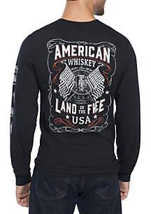 Long Sleeve American Elixer Tee Shirt