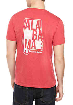 2689735800b TRUE CRAFT Alabama Born Tee ...