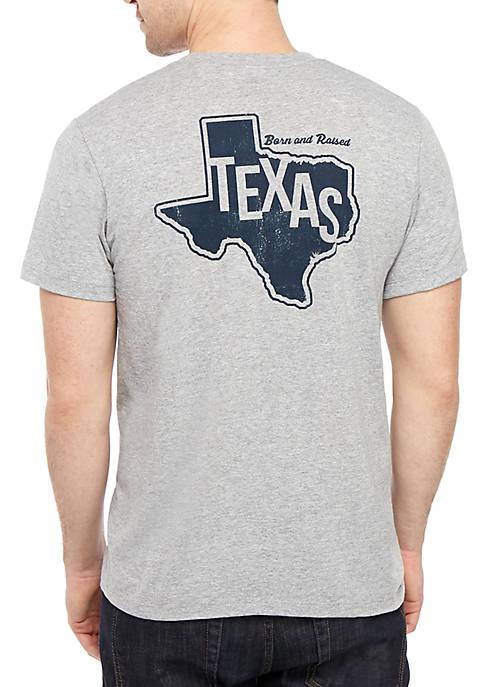 Texas Born T Shirt