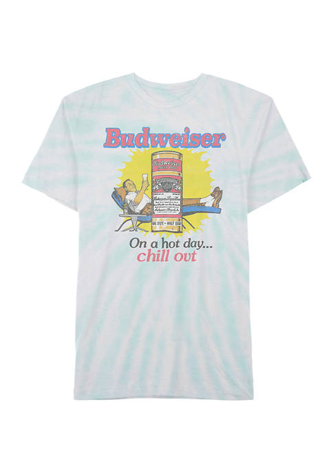 Crown & Ivy™ Budweiser Chill Out Graphic T-Shirt
