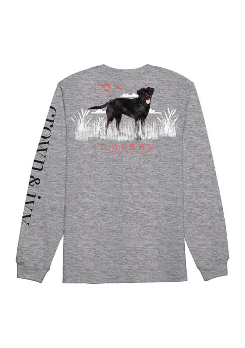 Crown & Ivy™ Long Sleeve Watching Sunset Graphic