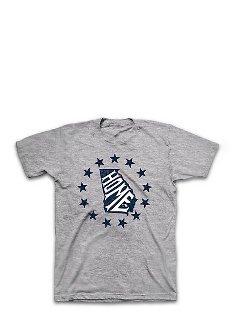 Crown & Ivy™ Short Sleeve Georgia State All