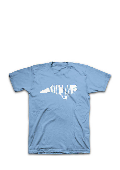 Crown & Ivy™ Short Sleeve NC Local Graphic