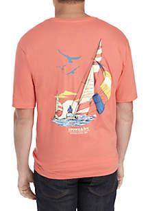 Big & Tall Sailboat Tee