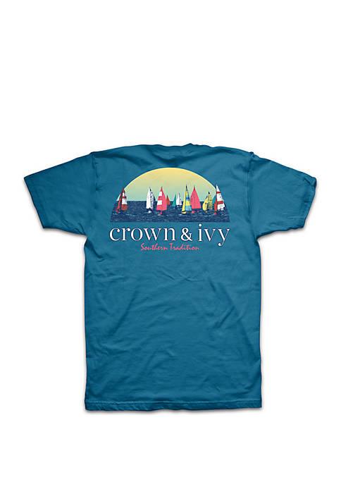 Crown & Ivy™ Big & Tall Regatta Sunset