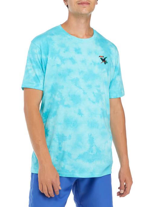 Crown & Ivy™ Short Sleeve Tie Dye Chest