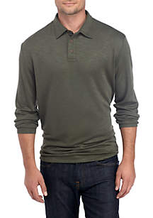Long Sleeve Weekender Polo Shirt