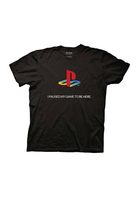 Short Sleeve PlayStation Graphic T-Shirt