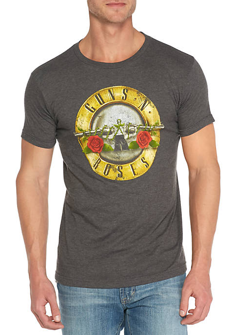 Bravado Guns N Roses Circle Logo Tee Shirt