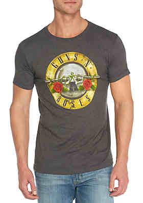 0285037f Bravado Guns N Roses Circle Logo Tee Shirt ...