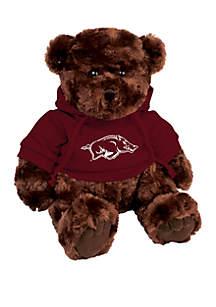 Arkansas Razorbacks 10 in Traditional Teddy Bear with Hoodie