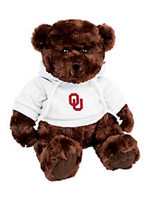 Oklahoma Sooners 10 in Traditional Teddy Bear with Hoodie