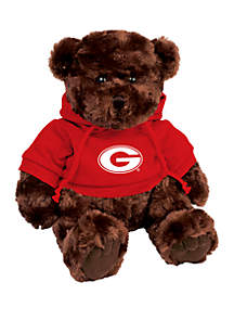 Georgia Bulldogs 10 in Traditional Teddy Bear with Hoodie