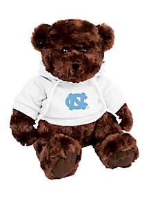 UNC Tarheels 10 in Traditional Teddy Bear with Hoodie